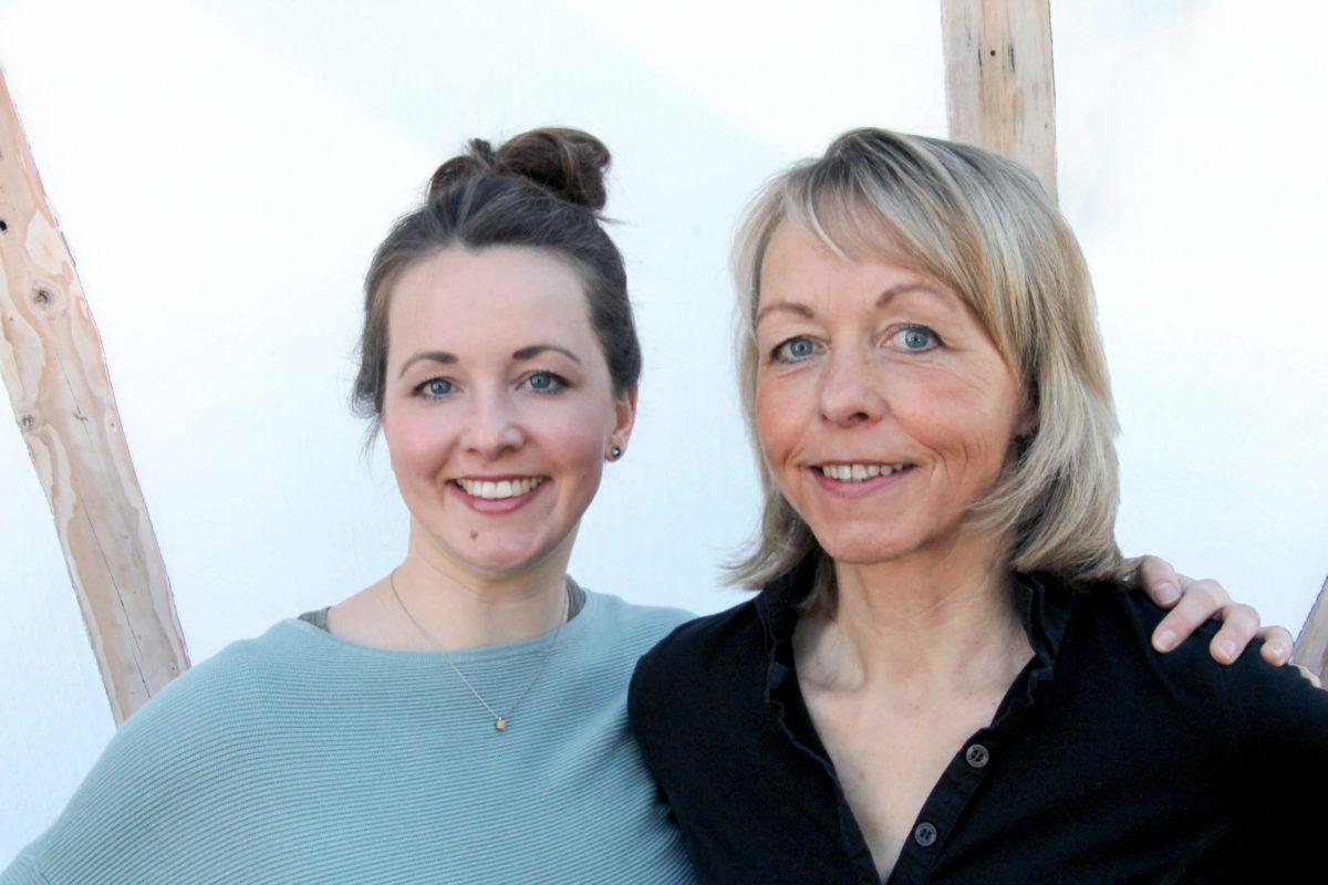 Katharina und Rita Greuel von der Hebammenpraxis Greuel in Simmerath